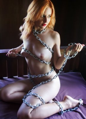 chained babes
