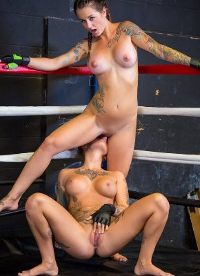 naughty fighing babes